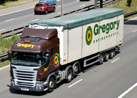 WN12 CYG | Scania R420 | Gregory Distribution Ltd.
