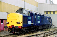37218 in DRS livery at Loughborough Brush.