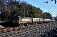 Mainline Railtours, Specials and Steam 2015.