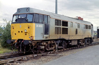 31453 in departmental grey livery at Leeds Holbeck.