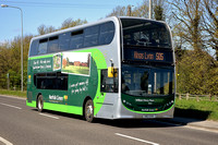 SN12 EHO | Norfolk Green 10053 on the A17 at Gedney.