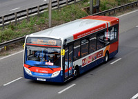 M6 Junction 4 Buses and Coaches. 28/07/14