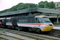 43194 in Intercity Swallow livery at Sheffield.