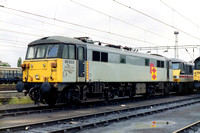 86603 in Railfreight Distribution livery at Bescot Yard.