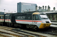 43048 in Intercity Swallow livery at Sheffield Station.