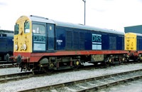 20904 in DRS livery at Carlisle Kingmoor Open Day.