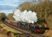 Great Central Railway Winter Steam Gala. 28/01/17.