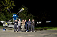 Our ground crew, and owner of the planes; Peter Teichman (3rd from left).