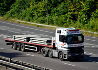 M55 GFS | Mercedes Benz Actros | Griffin Freight Services.