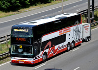 M6 Junction 4 Bus and Coaches. 10/07/15